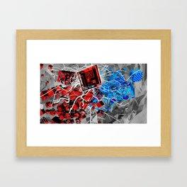 Cubularity Framed Art Print