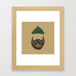 The Logger Framed Art Print