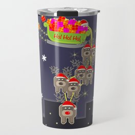 Sleigh Ride Travel Mug