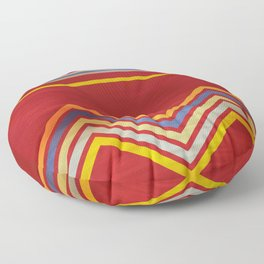 Stripes and Chevrons Ethic Pattern Floor Pillow