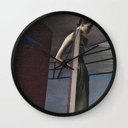 Visible Means Of Support  Wall Clock
