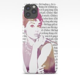 My Audrey iPhone Case