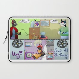 Zooming With Friends Laptop Sleeve