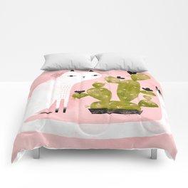 CAT & CACTUS Comforters