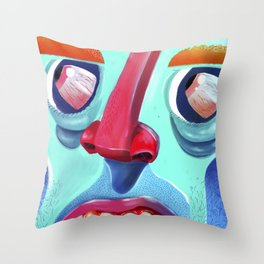 Say what?! Throw Pillow