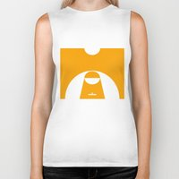 basketball Biker Tanks featuring BASKETBALL by AURA-HYSTERICA