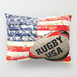 American Rugby Pillow Sham