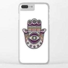 Hamsa Clear iPhone Case