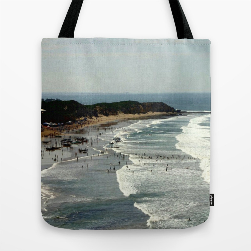 Torquay Heads - Rowing Regatta - Australia Tote Bag by Cjcphotography TBG860131