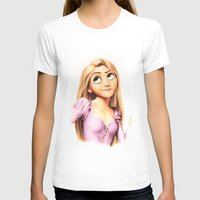 rapunzel T-shirts featuring Rapunzel by Patricia Teo