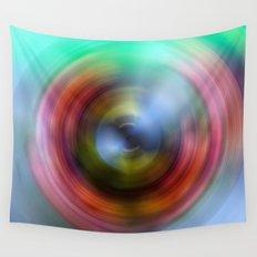Rainbow Eye Wall Tapestry