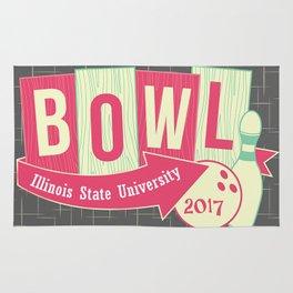 Illinois State University Bowling Club Rug