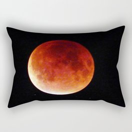 Super Moon Eclipse 2015 (Blood Moon) Rectangular Pillow