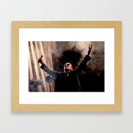 Roger Waters (Pink Floyd) - I Framed Art Print