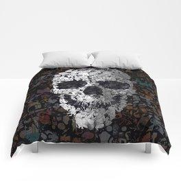 Doodle Skull Comforters
