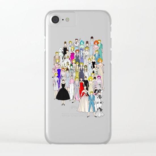 Tokyo Punks Two Clear iPhone Case