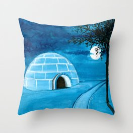 Dream Places to Visit Throw Pillow