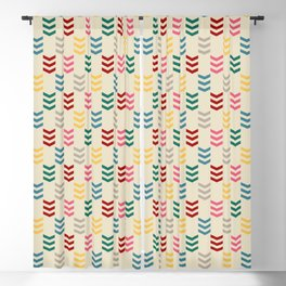 Colorful arrows Blackout Curtain