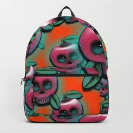 Cute Skull Apple Backpack