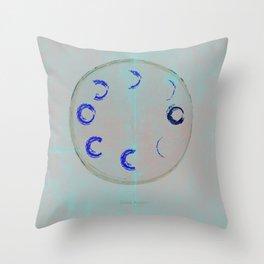 Lunar Activity Throw Pillow