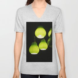 Green Lamps Unisex V-Neck