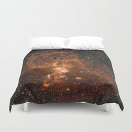 Beautiful Star Formation Duvet Cover