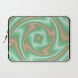 Ariele's Peach Abstract Laptop Sleeve