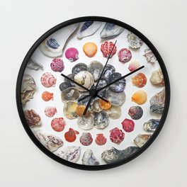 Jingle Shell Sun Wall Clock