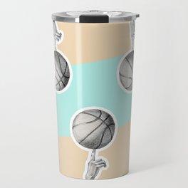 Spin a basketball Travel Mug