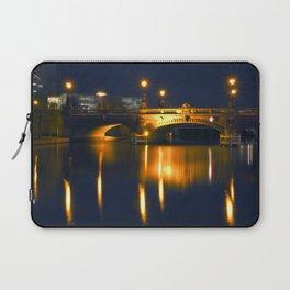 BERLIN NIGHT on the RIVER SPREE Laptop Sleeve