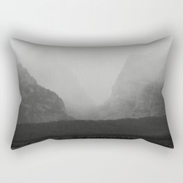 Storm Between the Mountains Rectangular Pillow