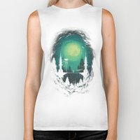 threadless Biker Tanks featuring 3012 by Robson Borges