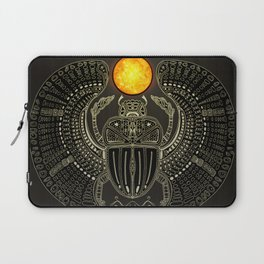 Sacred Scarab (v2) Laptop Sleeve