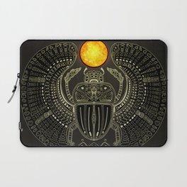 Sacred Scarab (v2) Laptop Sleeve