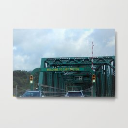 Welcome to Cape Breton Metal Print
