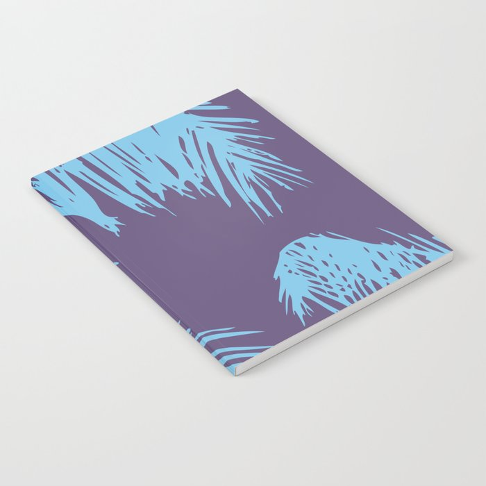 Ultra Violet Palm Print Notebook