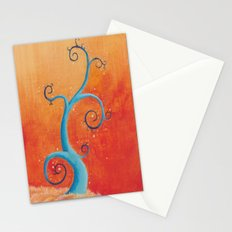 Raining Fire Stationery Cards