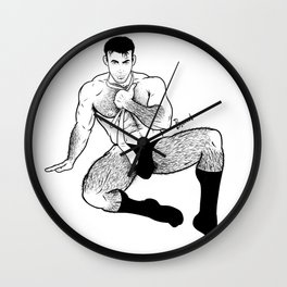 HELLO DADDY Wall Clock