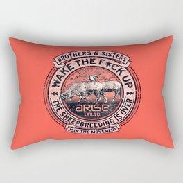 the awaken sheep (variant) Rectangular Pillow