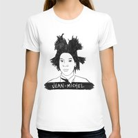 cassandra jean T-shirts featuring jean michel by b & c