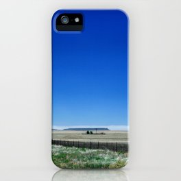 Somewhere on Hwy 285, New Mexico #1 iPhone Case