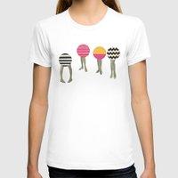 feet T-shirts featuring Dancing Feet by Cassia Beck