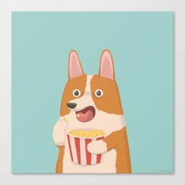 Mindless Snacking Canvas Print