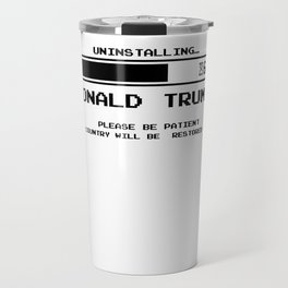 Anti Trump | Impeach the President | Vote For Dems Light Travel Mug