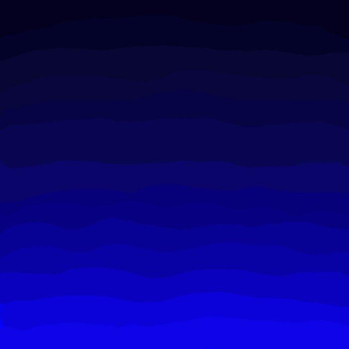 Deep Rich Sapphire Ombre Duvet Cover