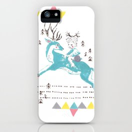 Deer Boy iPhone Case