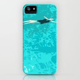 Ophelia Forgot Her Snorkel Again iPhone Case