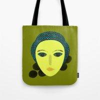 nausicaa Tote Bags featuring nausicaa by juni