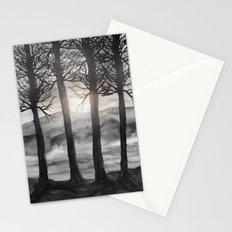 Grateful Love Song B&W Stationery Cards