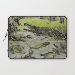 Hunting big game in the wilds of Africa - containing thrilling adventures of the famous Roosevelt Laptop Sleeve